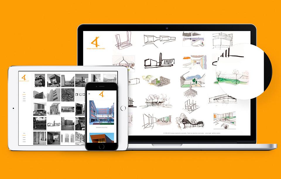 web arquitectura a medida
