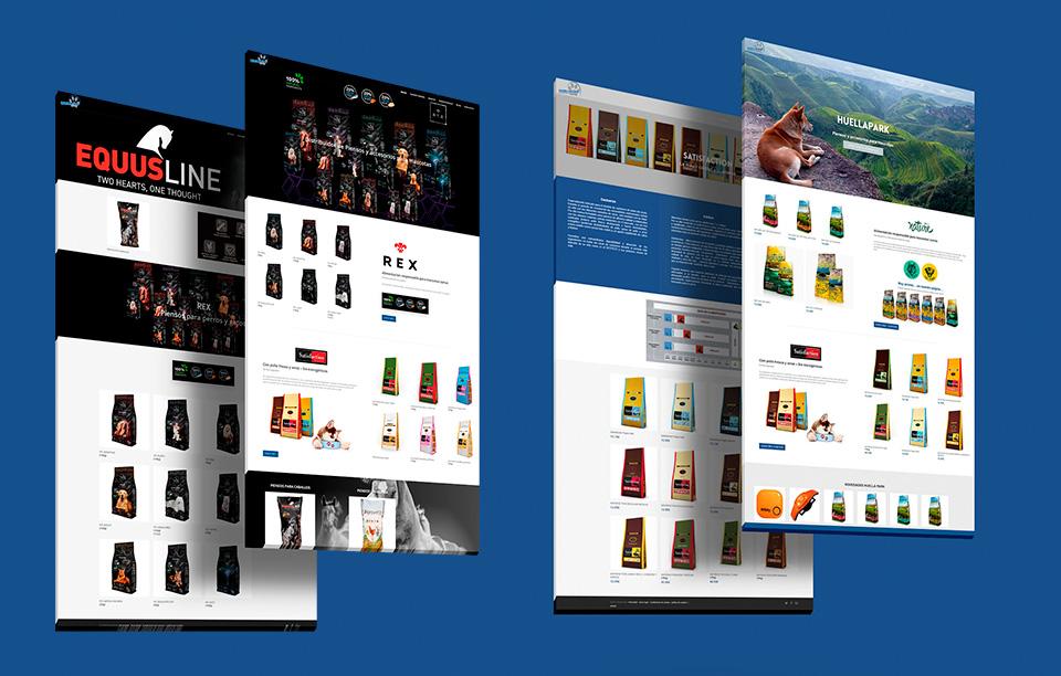web coporativa ecommerce