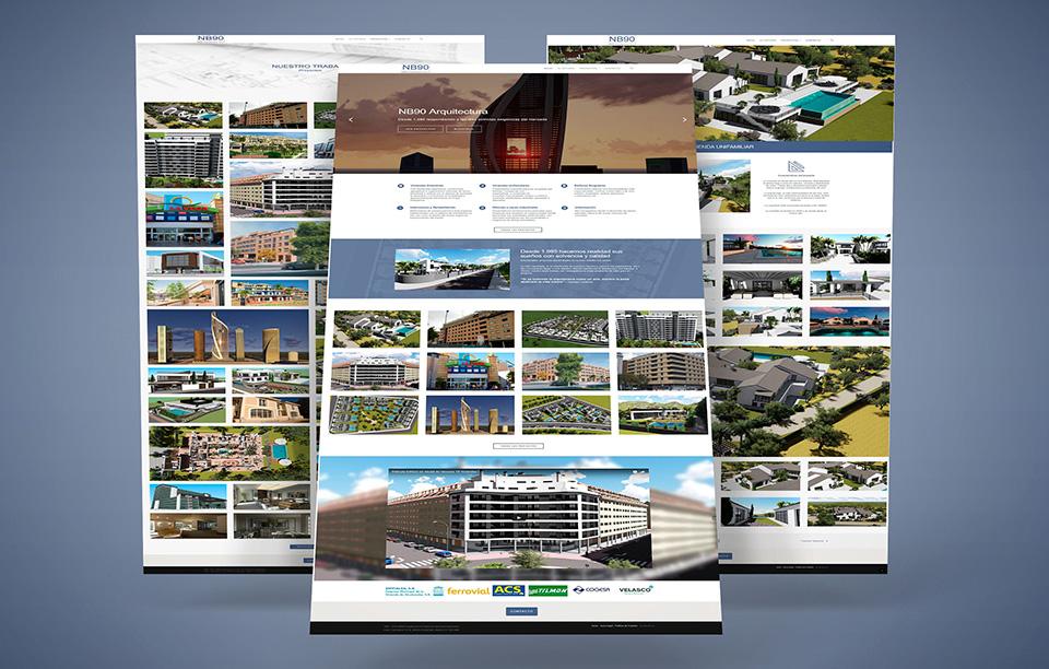 desarrollo web para arquitectura