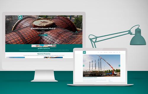 diseño web a medida arquitectura