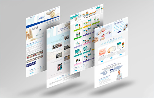 Diseño web corporativo sanitario